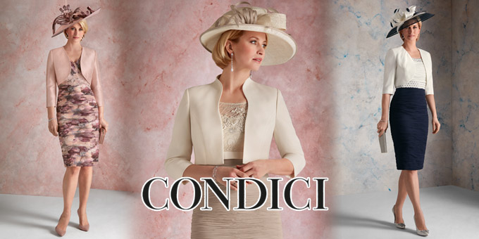 9af76cf7f4b Condici s 2018 collection includes elegant and sophisticated pieces which  have become the hallmark of the Condici look. Dress and Jacket sets  including ...