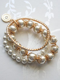 Vintage, Pearl & Diamonds